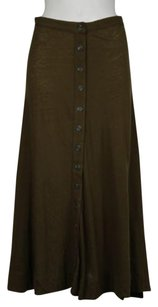 Edun Womens Mid Skirt Brown