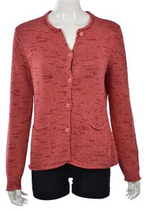 Eileen Fisher Womens Cardigan Cotton Long Sleeve Sweater