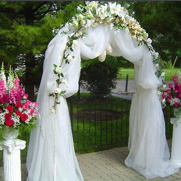 pictures of decorated arches for weddings arch ceremony decoration tradesy 6510
