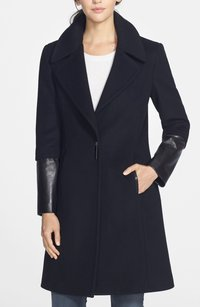 Elie Tahari 100% Wool 77828e Basic Coat