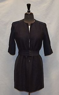 Elie Tahari Hook And Eye Coat