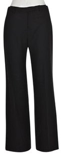 Elie Tahari Womens Solid Wool Dress Sz2 Trouser Pants