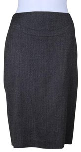 Elie Tahari Womens Skirt Black / Taupe