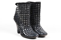 Elisanero Leather Black Boots