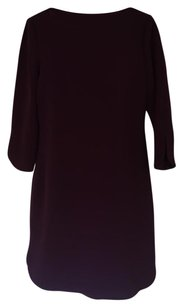 Eliza J Work Boatneck Crepe Pink Dress