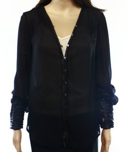 Elizabeth and James 100% Polyester Top