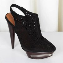 Elizabeth and James Womens Black Boots