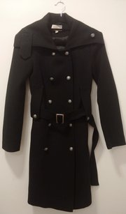 Elizabeth and James Formal Military Trench Coat