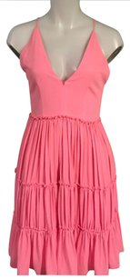 Elizabeth and James Pink Ruffle S Dress