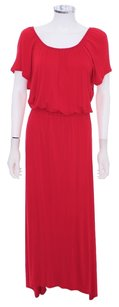 Red Maxi Dress by Ella Moss Mxi Maxi Maxi Summer Sexy Long Maxi Cotton