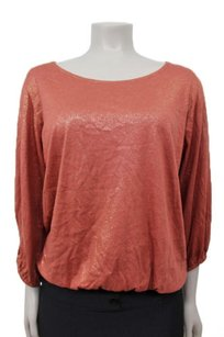 Ella Moss Sparkle Top Cinnamon