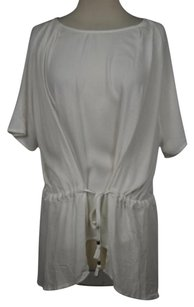 Ella Moss Womens Top Ivory