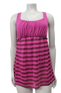 Ella Moss Striped Babydoll Tunic