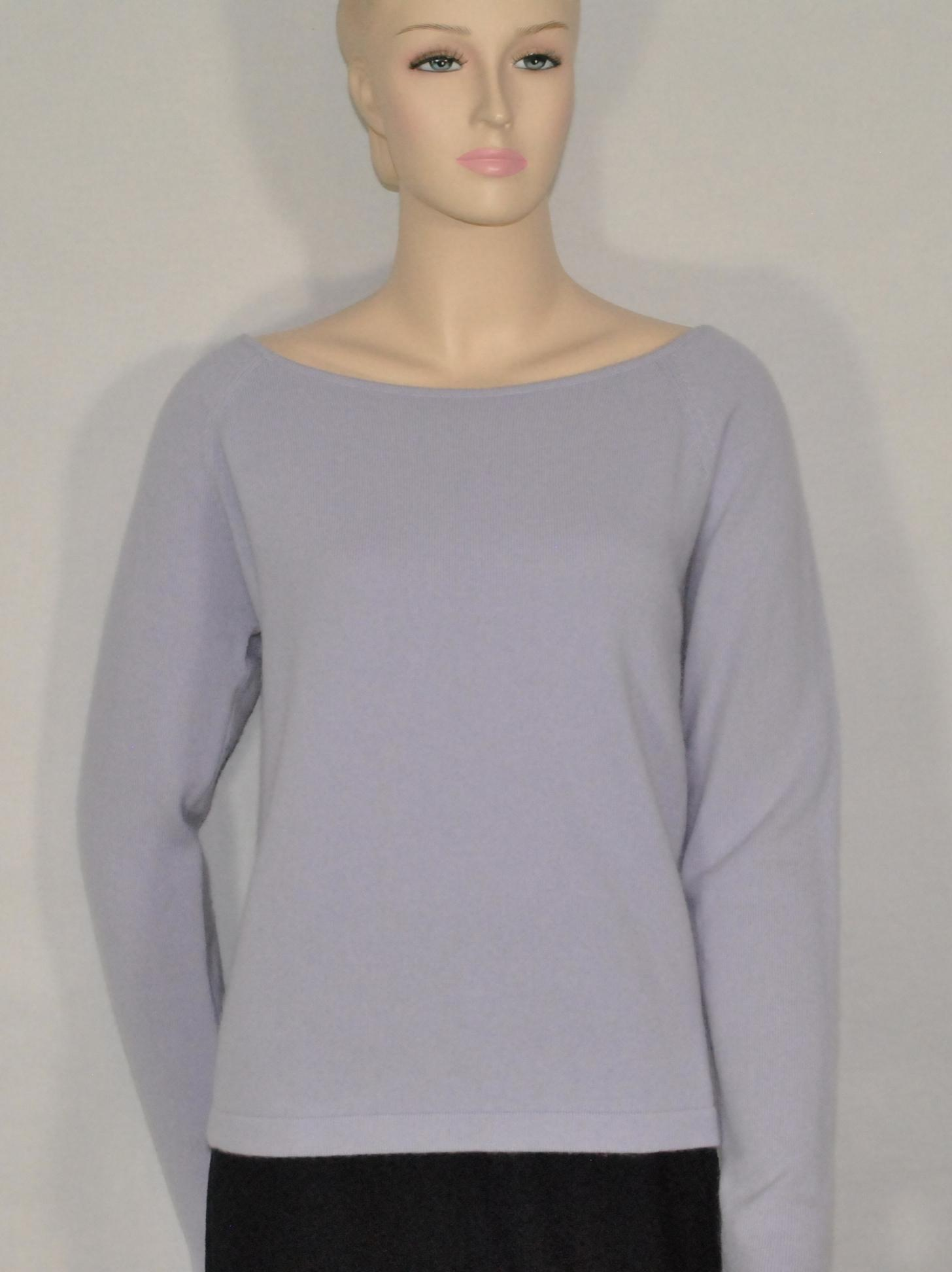 Ellen Tracy Purple Cashmere Sweater/Pullover Size 16 (XL, Plus 0x ...
