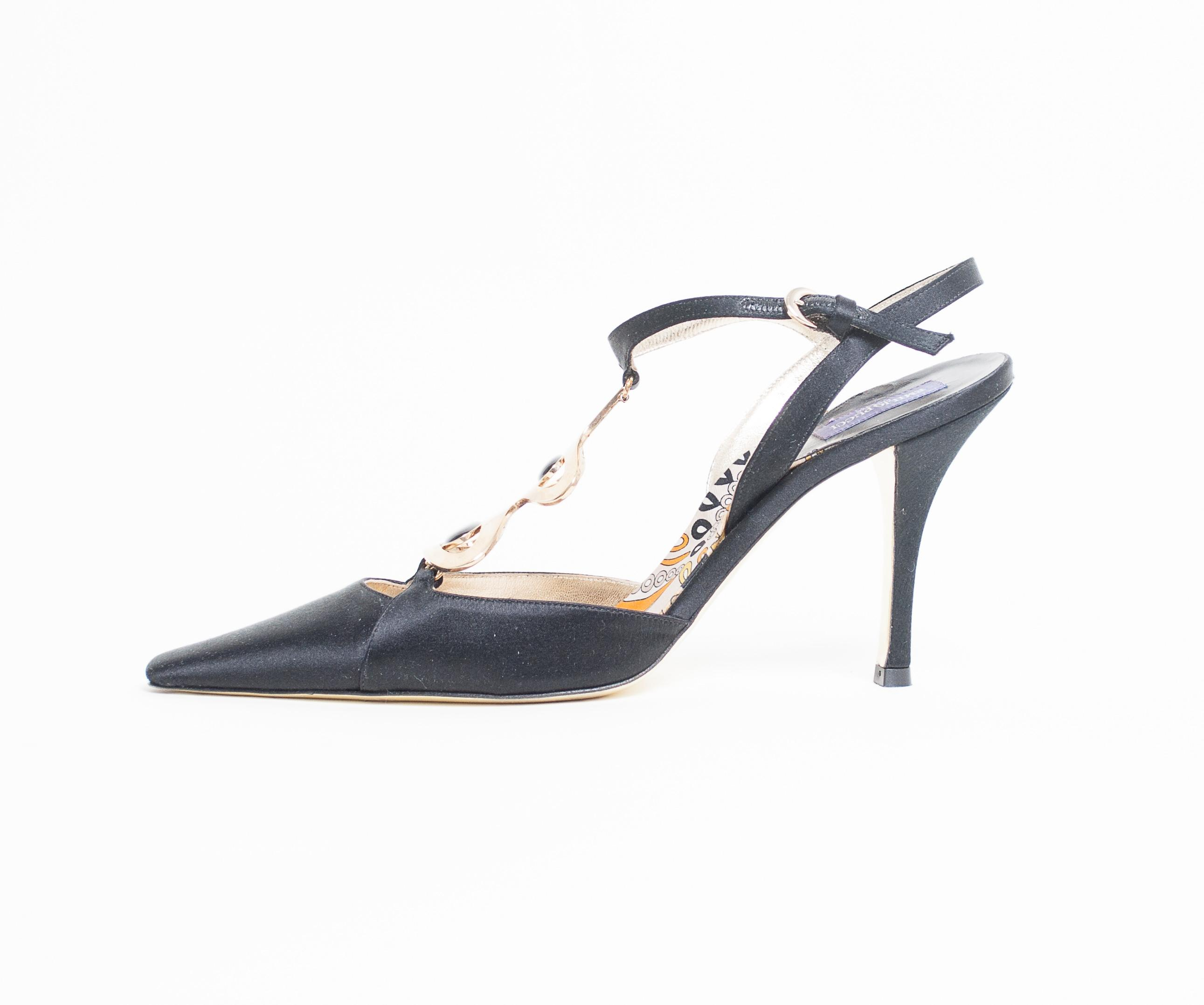 Emilio Pucci Pointed-Toe Satin Pumps sale pay with visa clearance high quality cheap websites visit cheap online buy cheap extremely LDi7GgSU