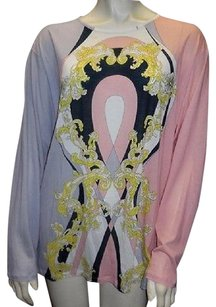 Emilio Pucci Cotton Silk Blend Long Sleeved Nwd Hs3043 Tunic