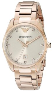 Emporio Armani Emporio Armani Women's Tazio AR6065 Rose Gold Stainless Steel Quartz Watch