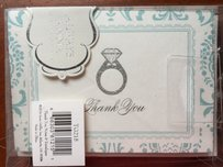 Engagement Or Wedding Theme Thank You Cards 9 Total