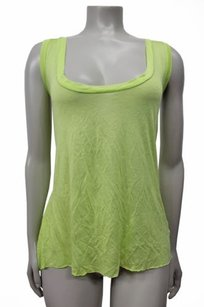 Enza Costa Kickback Top Lime Green