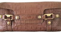Enzo Angiolini Satchel in Brown