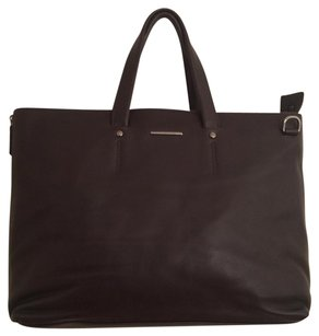 Ermenegildo Zegna Briefcase Tote in Brown