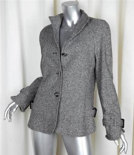 Escada Womens Wool Black Jacket