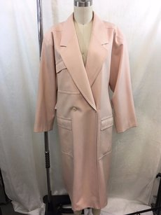 Escada Vintage Wool Double Breasted Full Length Coat