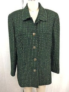 Escada Margaretha Ley Green Jacket