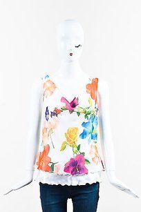 Escada Multicolor Top White