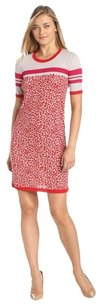 Escada short dress Red / Beige Sport on Tradesy
