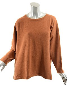 Eskandar Brick Rust Sweater