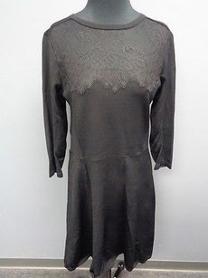 Etcetera short dress Black Rayon Blend on Tradesy