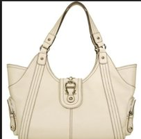 Etienne Aigner Montclair Tote in E Cru /off white