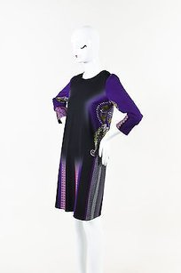 Etro short dress Multi-Color Purple Black Multicolor on Tradesy