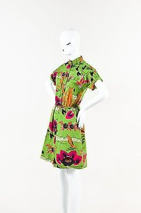 Etro short dress Green, Black, Gray, Pink, White, Orange, Multicolor Black Green Pink Cotton on Tradesy