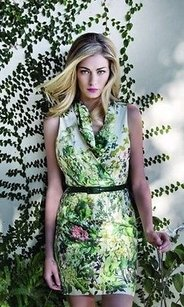 Eva Franco short dress Green Anthropologie Kinsey In English Ivy on Tradesy