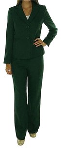 Evan Picone 13 40 Evan Picone Laurel Green Madison Ave Two Piece Pant Suit Size