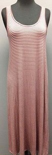 Multi-Color Maxi Dress by Everly Pink And Blue Striped