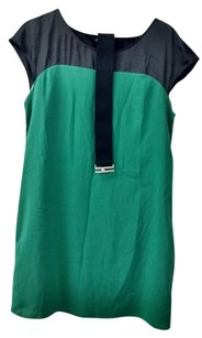 Express short dress Green/Black on Tradesy