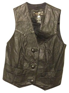 Fame Button Down Shirt 100% leather
