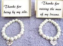 Fashion Jewelry For Everyone Mother Of The Bride Bracelet Mother Of The Groom Bracelet Mother Of Bride Wedding Gift Mother's Gift Wedding Bracelet