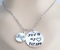 Fashion Jewelry For Everyone Pinky Promise You're My Person Grey's Anatomy You Are My Person Necklace Greys Anatomy Pinky Promise