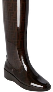 Fendi Dark Brown Boots