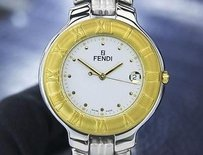 Fendi Fendi Orologi 900g Mens Or Unisex Gold-plated Quartz Dress Watch Withdate T760