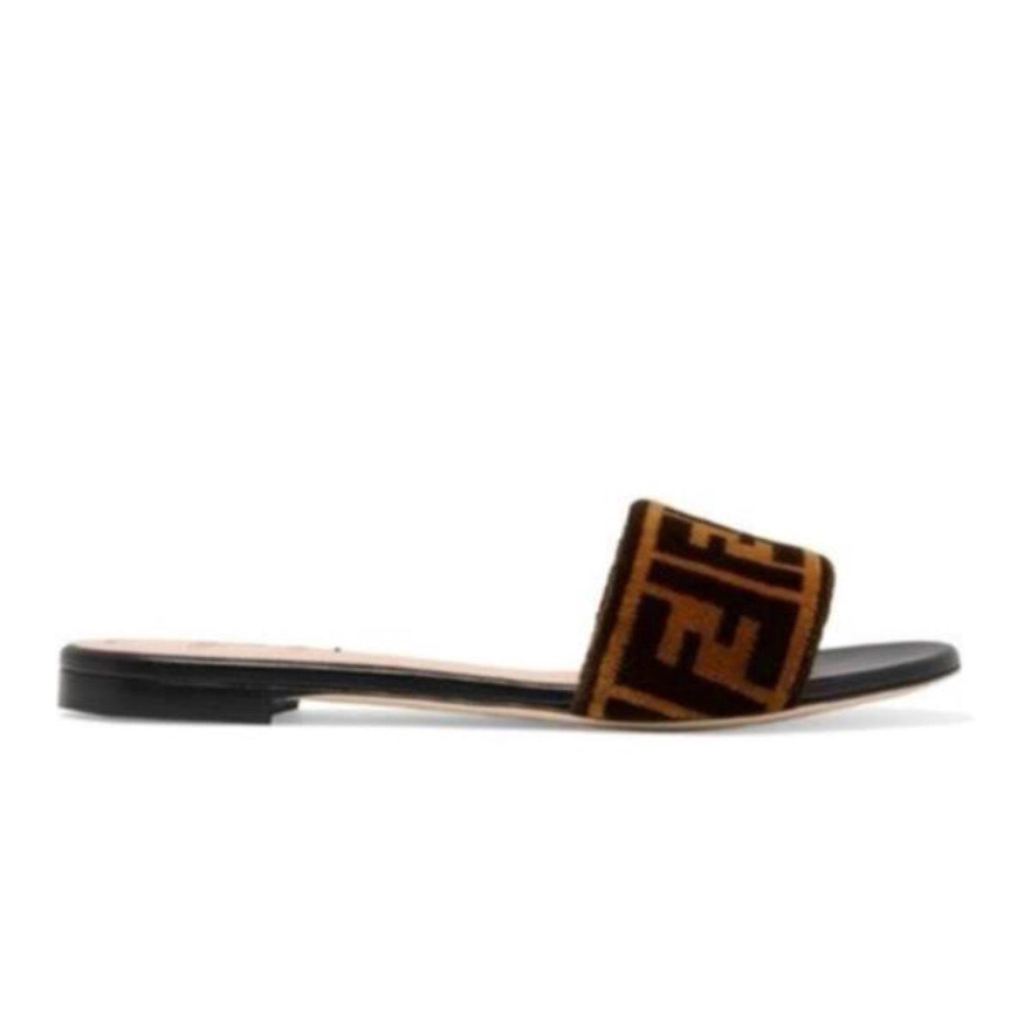cheap sale free shipping Fendi Leather slides cheap browse perfect for sale gwZZi
