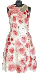 Fendi Roses Runway Flower Dress