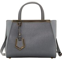 Fendi Satchel in Dark Gray