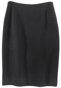 Fendi Straight Skirt Black