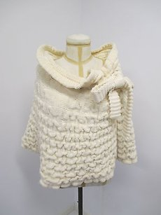 Fendi Cable Knit Soft Sweater