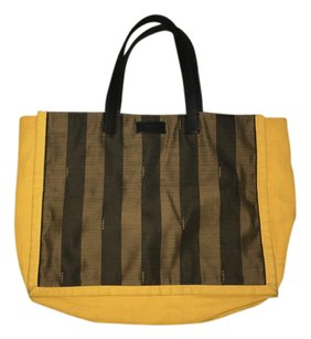 Fendi Tote in yellow-black